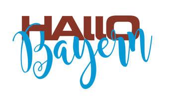 Logo Hallo Bayern Tergernsee - abacab design stellt aus